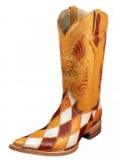 Exotic Western Boots- Imitation